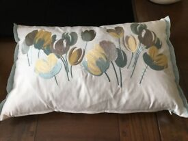 LAURA ASHLEY BOLSTER CUSHIONS (3) 'AVA' design