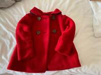 Mothercare girl coat