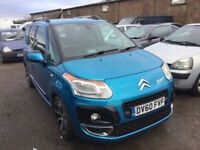2010 , 60 plate CITREON C3 PICASSO EXCLUSIVE DIESEL ONE OWNER FROM NEW ONLY 69000 MILES GENUIN CAR