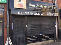Hairdressers Shop to Rent on Oldham Road, Failsworth, Manchester