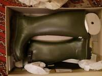 HUNTER wellies ladies size 7 New cost £120