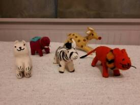 Felt Hand Made 100% Nepalese Wool Toys
