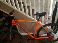 Cube aim sl pro 29er, 2017 , 23 inch frame , orange grey