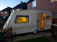 Abbey gt 214 2 berth caravan