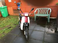 Jailing jd90 with a Honda engine good wee bike