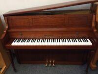 Fazer Upright Piano. Brilliant Condition. Free Delivery.