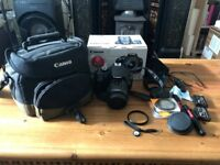 Canon eos 1200D with accessories