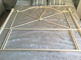 Small double bed headboard