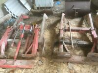 Massey Ferguson front loaders tidy codition