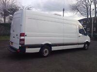 VAN WITH A VAN SOFA BED WARDROBE 24/7 COLLECTIONS AND DELIVERY AROUND UK AND EUROPE