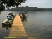 Terrrain à vendre avec accès au Lac Gagnon