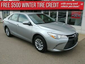 2017 Toyota Camry LE ***500 winter tire credit***