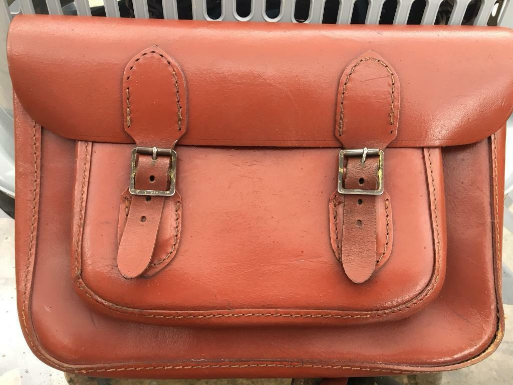 Leather 1960's Satchel