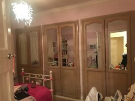 Wardrobe doors - mirrored