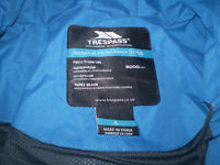 Trespass Blue WaterProof WindProof Brand New with tags Jacket