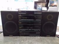 Pioneer XD-ZS53T Stereo With Pioneer F-Z93L And Pioneer S-Z73 Speakers
