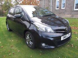 2011 61 Plate Toyota Yaris 1.33vvti *NEW SHAPE* 5 Door Hatchback -Sat Nav -Bluetooth -Reverse Camera