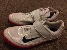 Size 9 Nike high jump spikes trainers