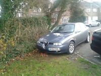 Alpha Romeo 156, 12 m Test , Low Mileage, Lovely Car, SERVICE HISTORY