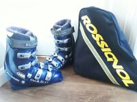 Salomon Evolution 8.0 Men's Ski boots monde 27.5 (UK 8-8.5) includes carry bag