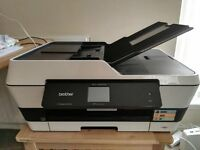 BROTHER MFCJ6520DW Wireless A3 All-in-One Inkjet Printer +printer ink cartridges FREE