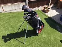 Wilson Golf club set and Wilson golf bag complete