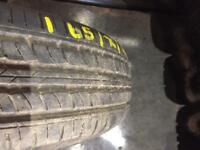 165/70/14 tyre as new