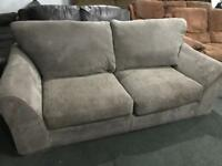 As new fabric 2 seater sofa