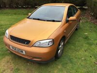 Vauxhall Astra coupe 12months new MOT