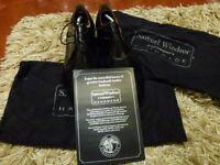 Handmade Leather Shoes by Samuel Windsor - Brand New & Unworn