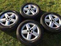 """Nissan X-trail 16"""" Alloy wheels and tyres"""