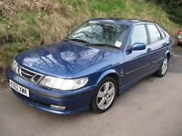 2002 . Saab 93 diesel hatchback. 2.2litre. 12month MOT. 115000miles. Excellent reliable runner