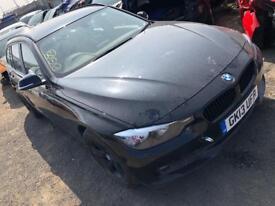2013 BMW 318D Estate F31 Black Salvage Spares or Repair
