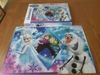 2 Disney puzzles 104pcs and 250pcs