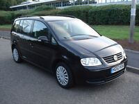 2003 53 reg vw volkswagen touran SOLD SOLD 1.9 tdi black 6 speed low mileage px possible 7 seats