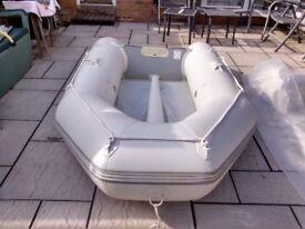 inflatadle dinghy jago 270 , 2.7m 3 man dingy tinder rib sib boat