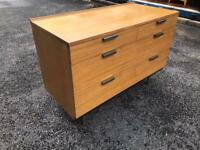 Mid 20th century Sylvia Reed chest of drawers for Stag