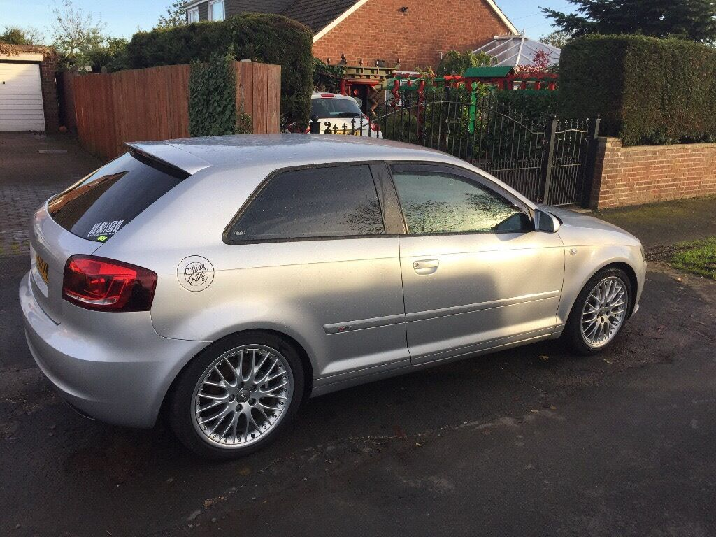 fsh 2006 audi a3 sline modified new engine turbo and clutch 6500 miles price reduced. Black Bedroom Furniture Sets. Home Design Ideas