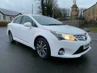 2015 TOYOTA AVENSIS ICON D4D 2.0 DIESEL FULL SERVICE HISTORY JUST SERVICED EXCELLENT CONDITION