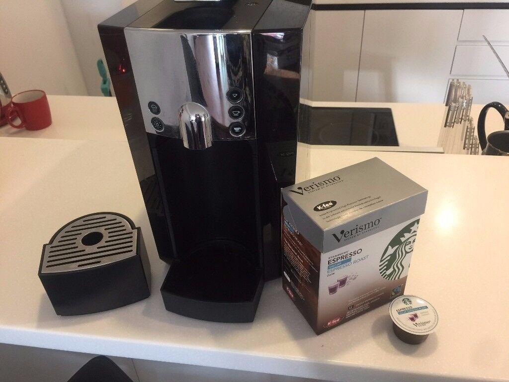 Coffee Machine (STARBUCKS VERISMO) in excellent condition