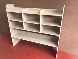 Garage, shed and van shelving made to order