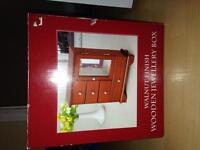 Walnut Finish Wooden Jewellery Box