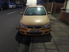 Vauxhall Corsa 1.2 petrol 3 doors cheap to run drive and insurance ready to go. Mot 07/18