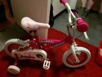 12 inch princess bike