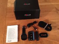 Polar RCX3 GPS Heart Rate Monitor & Sports Watch AND handlebar mount AND bicycle cadence sensor
