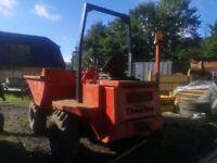 3.5 tonne dumper