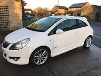 Corsa SXI 2008 White (SRI styling kit)