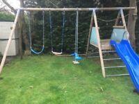Swings Slide Climbing Frame