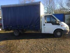 Ford transit 54 plate curtainsider truck