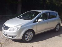 Low mileage 2008 Vauxhall Corsa Design 1.2, 5 Door, 46,585 miles , MOT 13/3/2017, FSH, VGC
